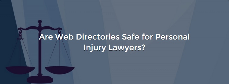 web directories for personal injury lawyers